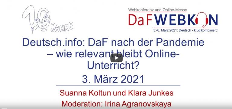 .deutsch.info – mehrsprachige Webseite zum Deutschlernen